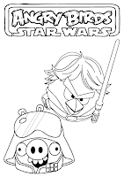 angry birds star wars coloring pages to print | Angry Birds Star Wars Coloring Pages ~ Free Printable ...
