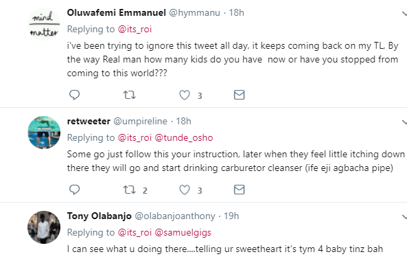Checkout the hilarious reactions from Nigerians after pretty Twitter user says only weak men use condoms