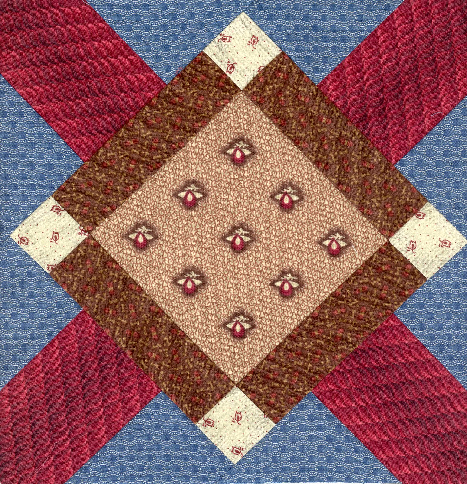 Moonbear Longarm Quilting Civil War Sampler Blocks