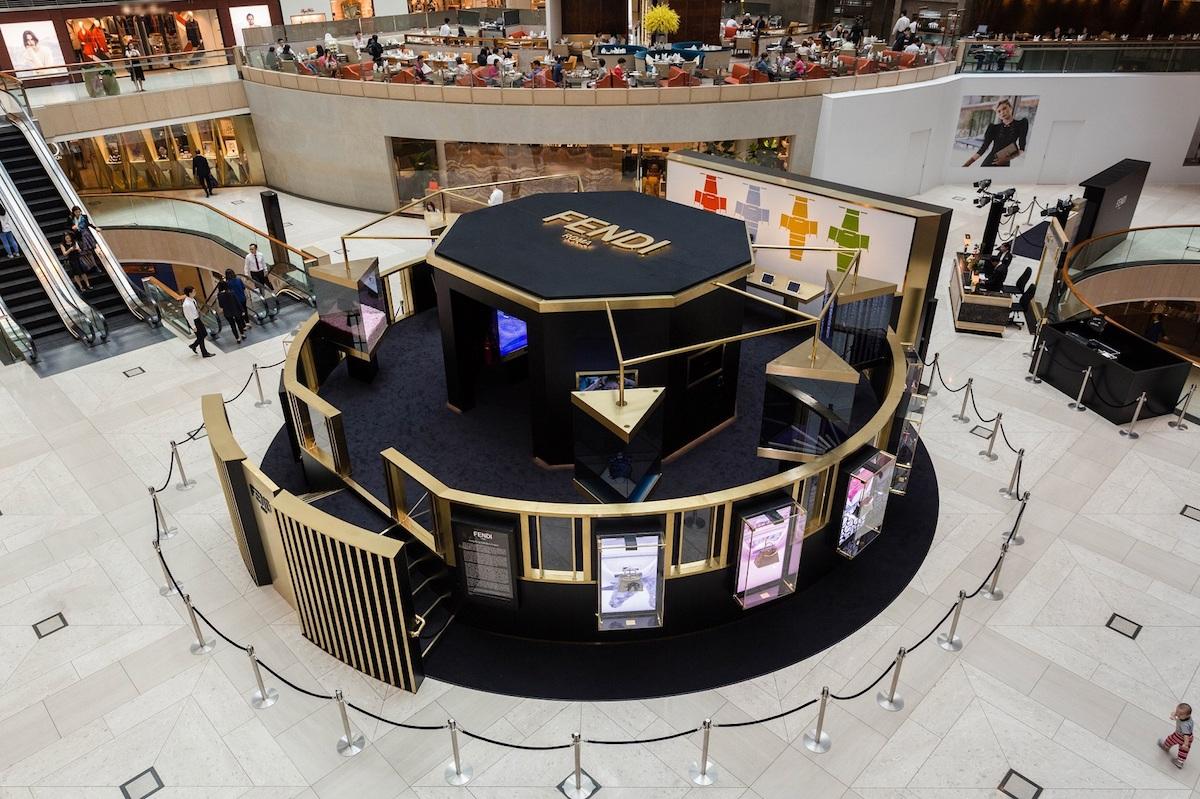 FENDI's Peekaboo Project in Hong Kong