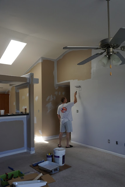Brian Painting the Walls