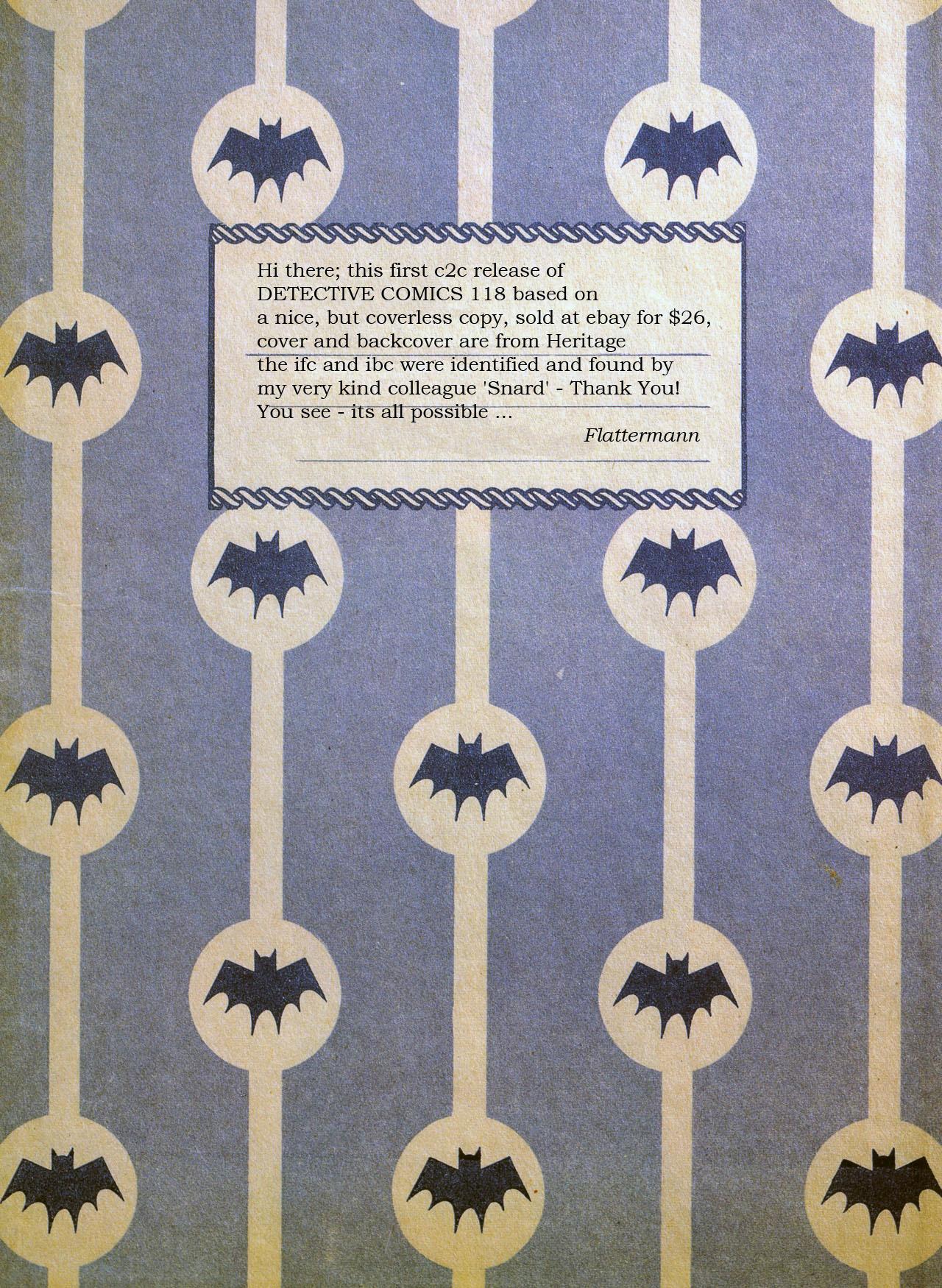 Read online Detective Comics (1937) comic -  Issue #118 - 53