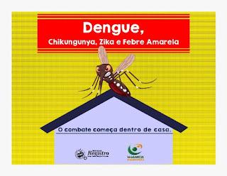 Alerta para casos de dengue durante o mês de abril
