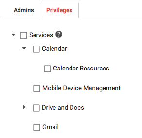 New Calendar administrator privileges available in the Admin console