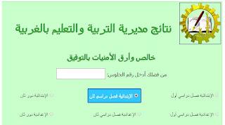 نتيجة محافظة الغربية الصف السادس الابتدائى الفصل الدراسى الثانى 2016