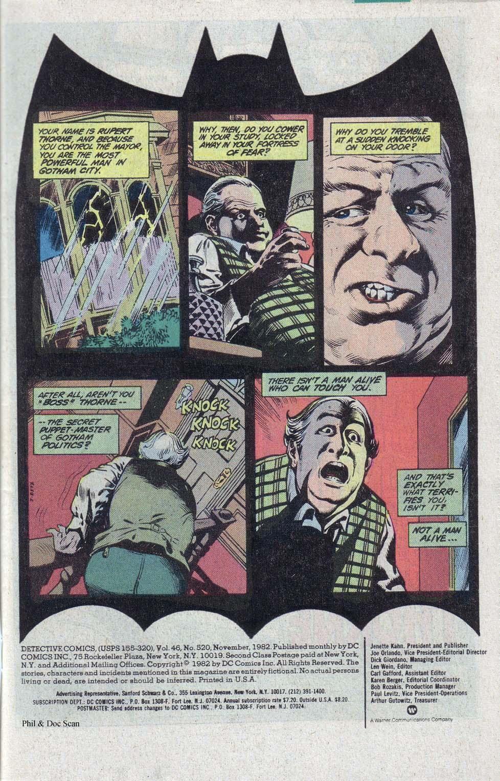 Detective Comics (1937) 520 Page 1