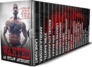 Wanted: An Outlaw Anthology bestselling authors book promotion