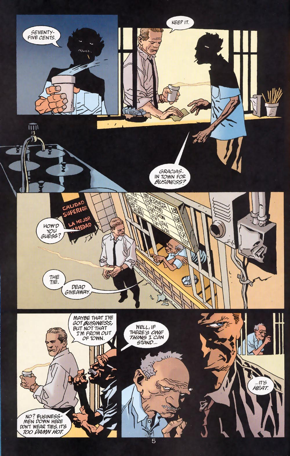 Read online 100 Bullets comic -  Issue #39 - 7