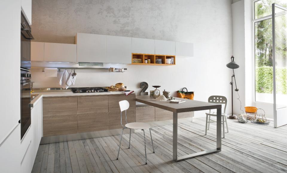 30 ideas de mesas y barras para comer en la cocina - Barras de bar para cocinas ...
