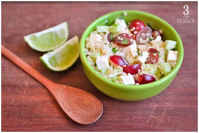 receita salada uva quinoa