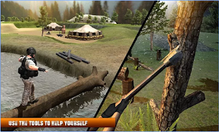 Game Army Commando Survival Island App