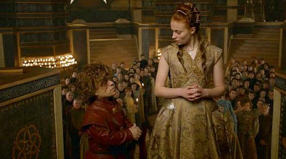 Tyrion Lannister y Sansa Stark, 'Juego de Tronos'