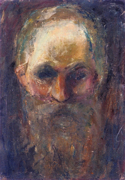Edvard Munch Old Man