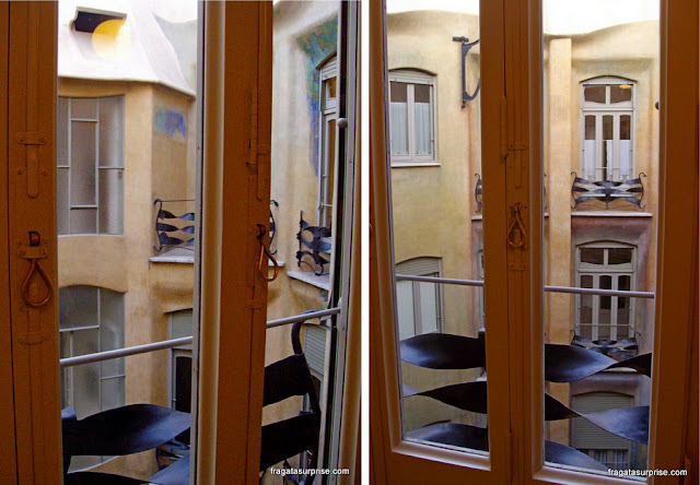Interior de La Pedrera, Barcelona