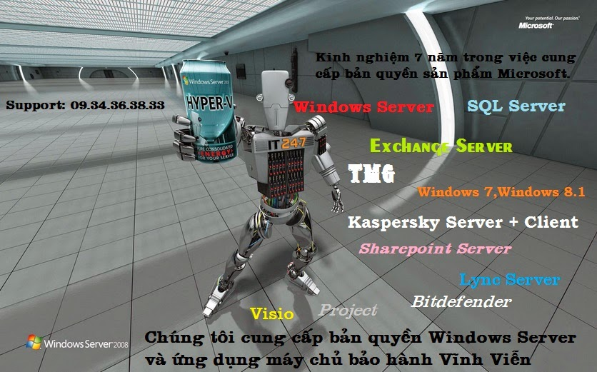 www.Key4VIP.info  Bán key bản quyền Windows Server 2008 R2 Standar Enterprise,Windows Server 2012 R2,Exchange Server,SharePoint,SQL,Windows 8.1,Kaspersky,Office,Bitdefender,Trendmicro,