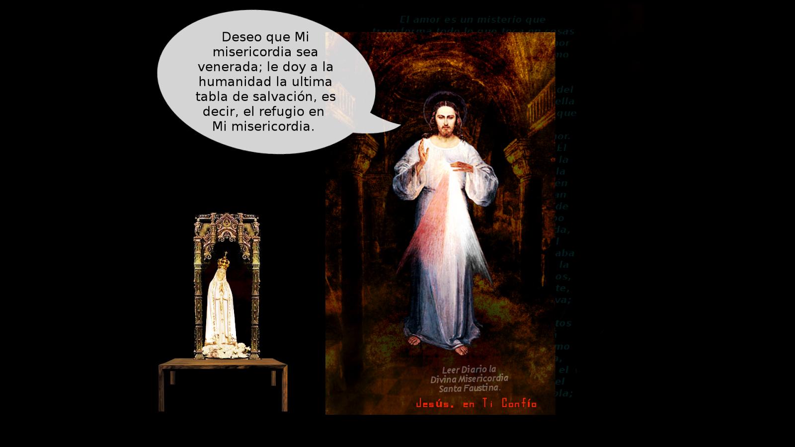 foto jesus divina misericordia para preparar el mundo a su segunda venida