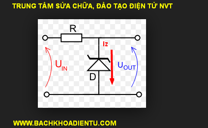 mach diode zener cơ bản