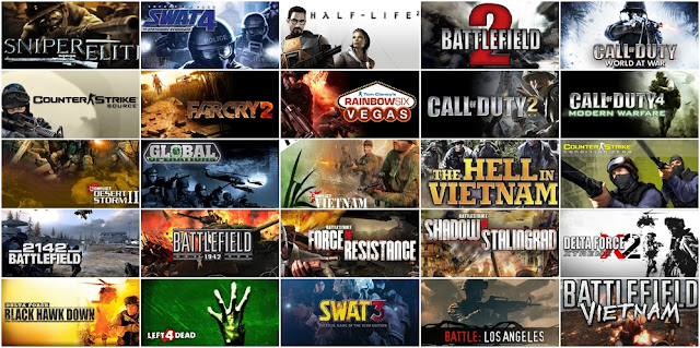Daftar Game PC Ringan Low Spec FPS Tembak Tembakan Offline