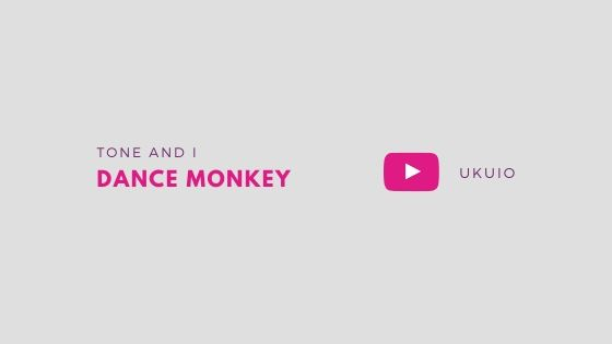 kunci kentrung dance monkey mudah