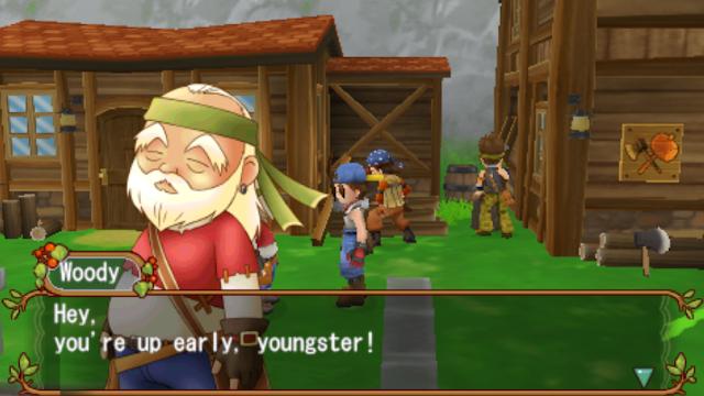 [Game PSP] Bagaimana Cara Mendapatkan Lumber/Kayu Di Harvest Moon Hero of Leaf Valley