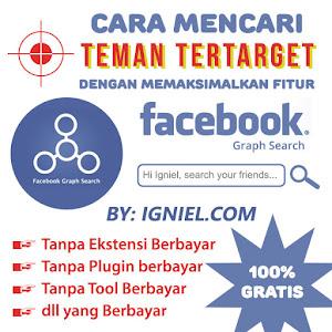 Cara Mencari Teman Tertarget di Facebook GRATIS dan Script Add Friend Masal Otomatis