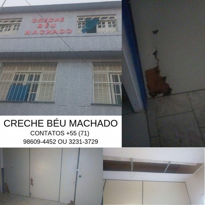 Creche Béu Machado divulga campanha de doações