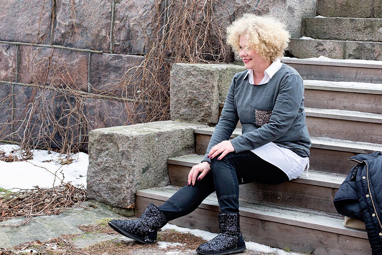Agencies Turquoise, dagens, muoti, fashion, pusero, pukeutuminen, naisten muoti, talvi