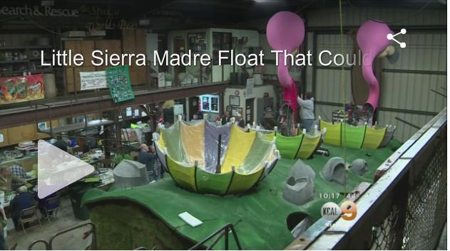 The Sierra Madre Tattler : KCAL/CBS News Los Angeles: Little