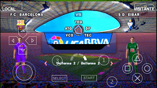 Download PES 2016-17 LEAGUE MX BY JOSE PSP Android