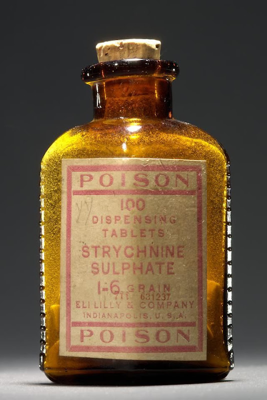 Poison: Strychnine Sulphate - Dispensing tablets