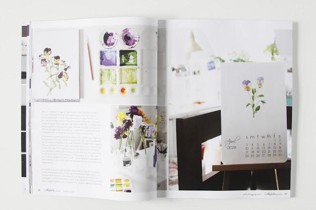 Artful Blogging Magazine, Anne Butera, My Giant Strawberry