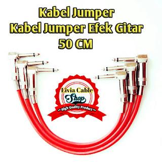 Kabel Jumper Atau Kabel Jumper Efek Gitar 50cm