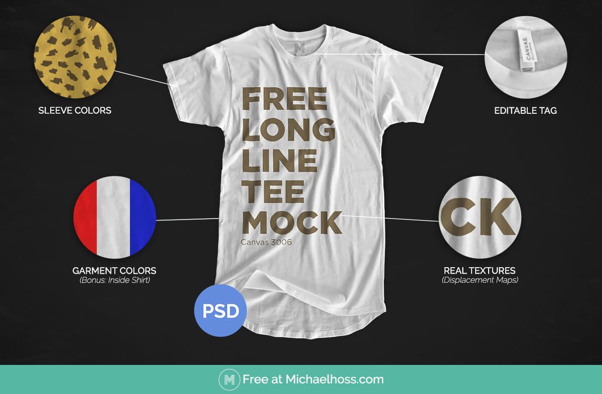85 Best Free T-Shirt Mockup PSD Templates | MUSIC THEORY