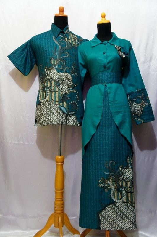 Baju Grosir Jogja  Baju Batik Sarimbit Gamis Murah Batik Modern
