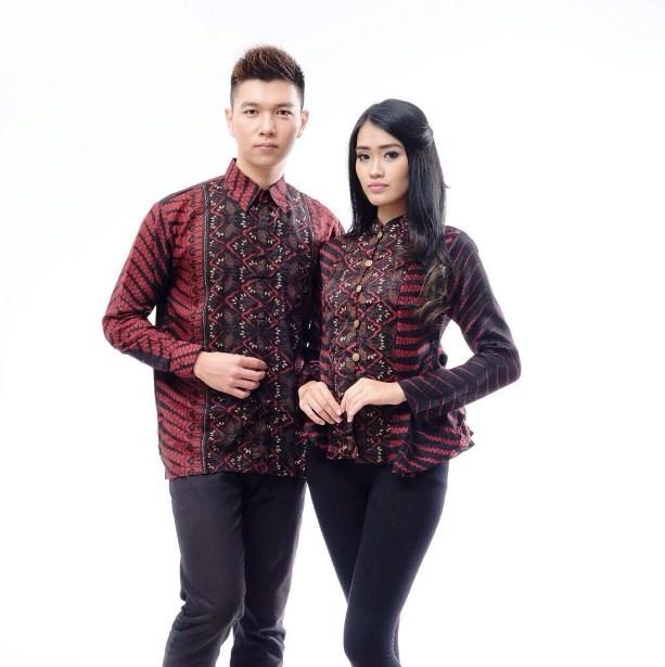 Jual Baju Batik Couple Anak Muda Atasan