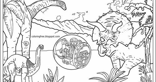 Niedlich Ausmalbilder Jurassic World Galerie - Framing Malvorlagen ...