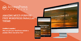AccessPress Parallax - WordPress Modern Resposinve