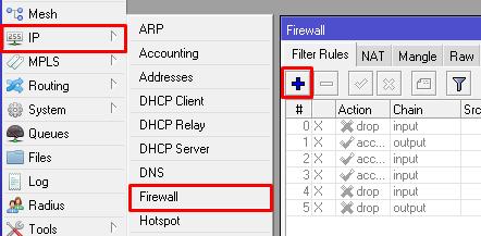 Tutorial Memblokir Website dengan Firewall Mikrotik - Diary