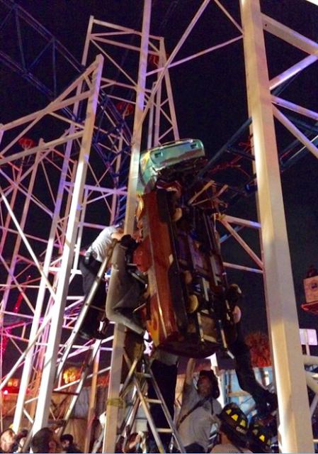 Coaster Derails at Boardwalk Amusements, Daytona