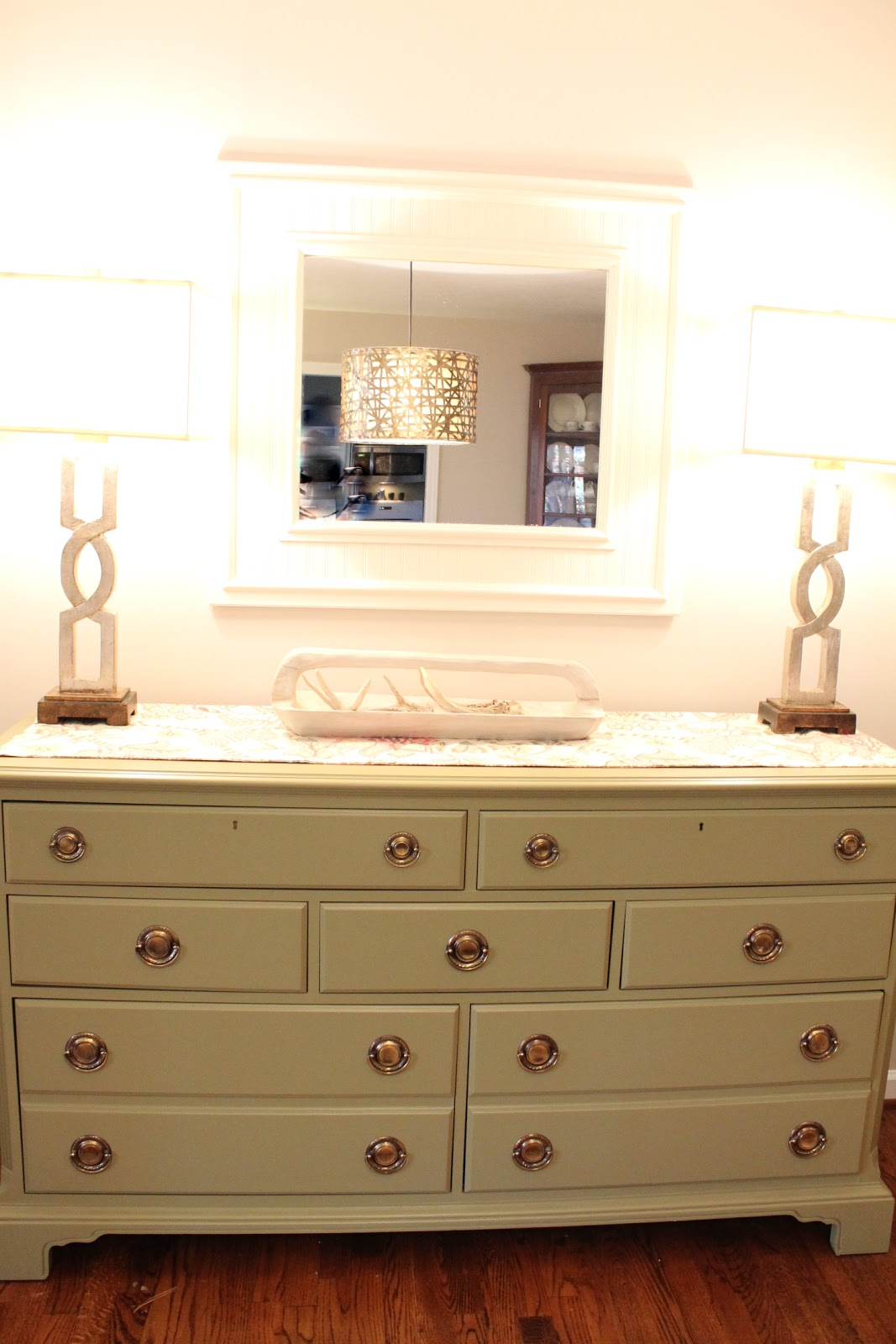 Woven Home: Goodwill Dresser Turned Dining Room Buffet