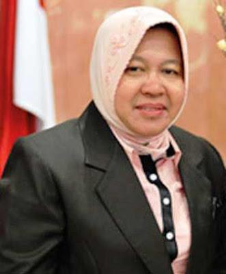 Profil Tri Rismaharini Walikota Surabaya periode 2016