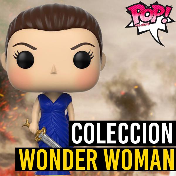 Figuras Funko Pop Lista Y: Funko POP Wonder Woman (Película)