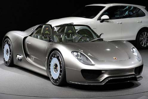 Porsche Is A German Car Manufacturer Introduced New 918 Spyder Special Edition Produced Only Units In The World