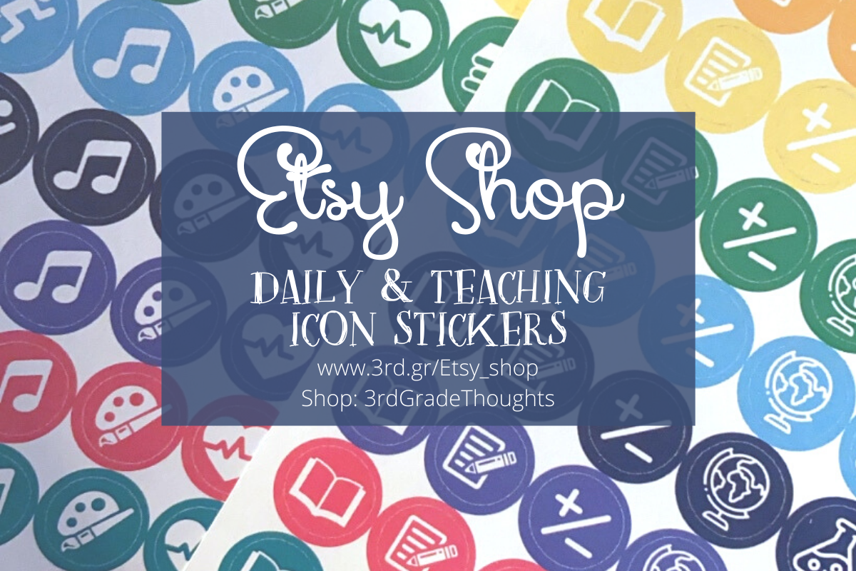 Shop Icon Stickers for Your Planner