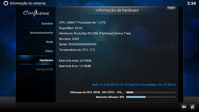 Análise Radxa Rock 2 (RK3288, 2GB RAM, 16GB ROM) 40