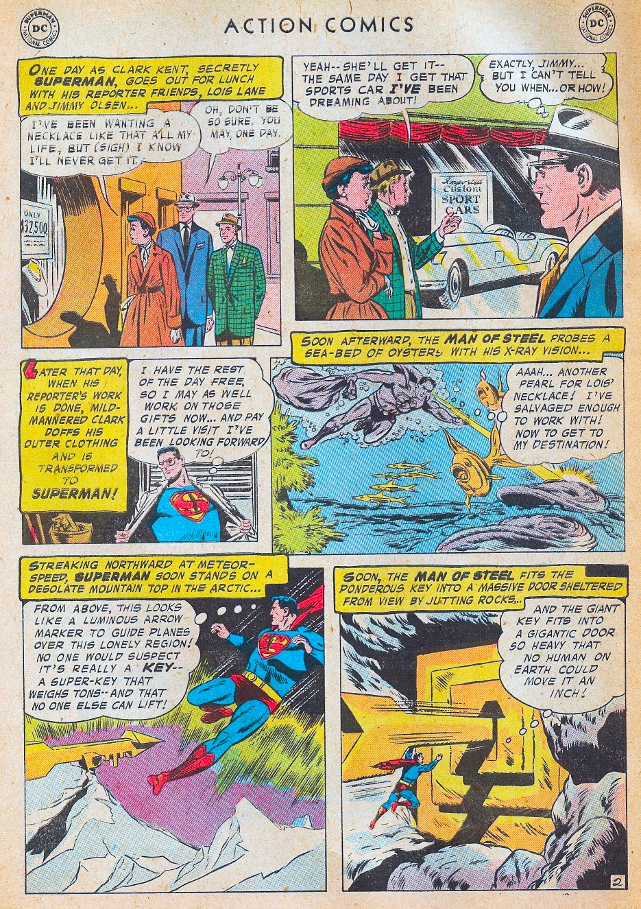 Read online Action Comics (1938) comic -  Issue #241 - 4