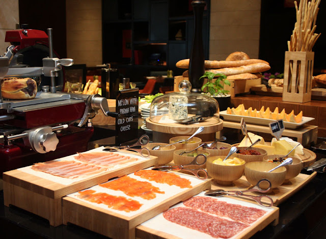 Grand Hyatt Hotel's The Grand Kitchen BGC Cheese Cured Meats