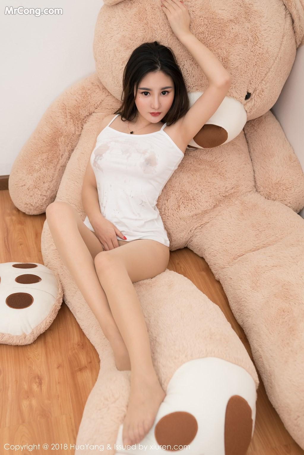 Image HuaYang-2018-03-02-Vol.034-Xiao-Tian-Xin-Candy-MrCong.com-024 in post HuaYang 2018-03-02 Vol.034: Người mẫu Xiao Tian Xin (小甜心Candy) (41 ảnh)