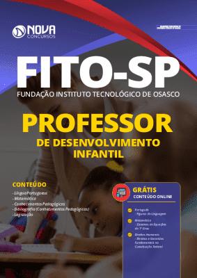 Apostila Concurso FITO Osasco 2020 Professor PDF e Impressa