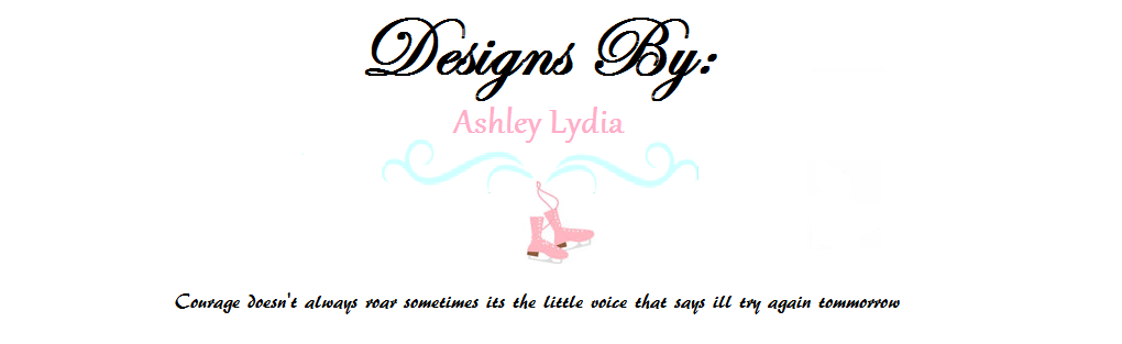 Designs by: Ashley Lydia